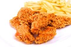 Asas de galinha Imagem de Stock Royalty Free