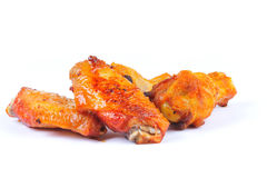 Asas de galinha Fotos de Stock