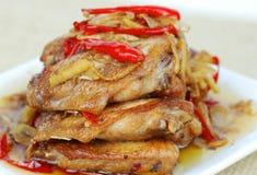 Asas de galinha Fotografia de Stock