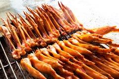 Asas de galinha grelhadas Imagens de Stock