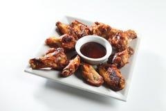 Asas de galinha picantes Imagem de Stock Royalty Free