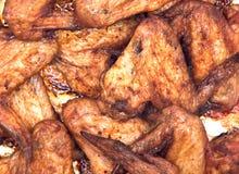 Asas de galinha picantes Imagem de Stock