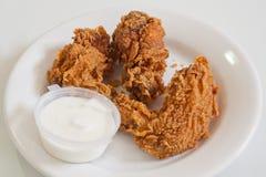 Asas de galinha quentes Imagens de Stock Royalty Free