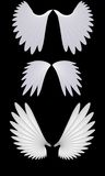 Asas do anjo Imagens de Stock