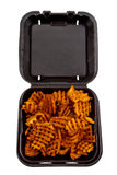 Asas e fritadas quentes Fotografia de Stock