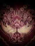 Asas modeladas Batik imagem de stock