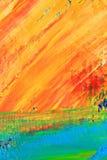 Asbackground pintado da lona Imagens de Stock