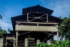Asbest schattierte Struktur stockfotografie