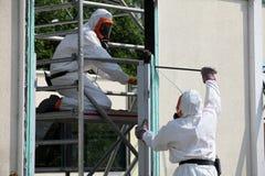 Asbestborttagning Arkivbild