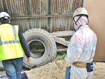Asbestos-103 Foto de archivo
