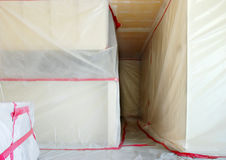 Asbestos Abatement Royalty Free Stock Image
