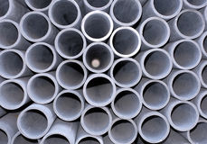 Asbestos-cement pipe Stock Photography