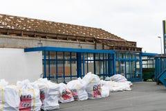 Asbestos removal Royalty Free Stock Image