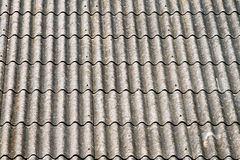 Asbestos roof Royalty Free Stock Photography