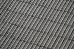 Asbestos roof lining Royalty Free Stock Images