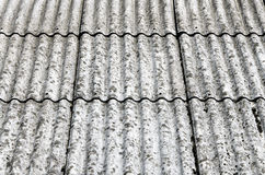 Asbestos roof Royalty Free Stock Photos