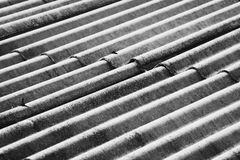 Asbestos Sheet Royalty Free Stock Photography