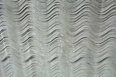 Asbestos tile. New asbestos boards in stock. Asbestos sheets are exposed for sale Stock Images