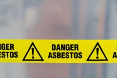 Free Asbestos Warning Sign Royalty Free Stock Images - 23794259
