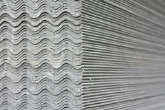 Asbesttegelplatta Arkivbilder