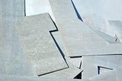 Asbestzement Wallboard Lizenzfreies Stockbild