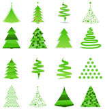 Asbtract Christmas Trees Royalty Free Stock Image
