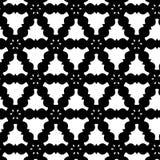 asbtract czerni wzoru biel Obraz Stock