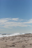 Asbury公园海滩 库存图片