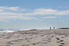 Asbury公园海滩 库存照片