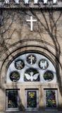 Asbury Church. In china beijing  chinese Cross Christianity Wall Historic Buildings Angel parish Royalty Free Stock Photos