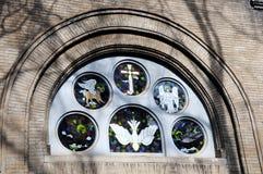 Asbury Church. In china beijing  chinese Cross Christianity Wall Historic Buildings Angel parish Royalty Free Stock Image