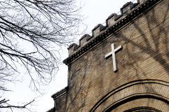 Asbury Church. In china beijing  chinese Cross Christianity Wall Historic Buildings  parish Royalty Free Stock Images