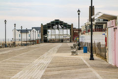 Asbury Park Attractions. Attractions along the Asbury Park Boardwalk Stock Photos