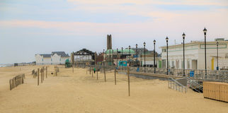 Asbury Park Attractions. Attractions along the Asbury Park Boardwalk Stock Photo