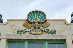 Asbury Park Convention Hall Details Stock Photography