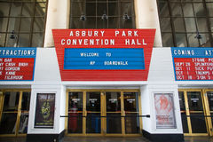 Asbury Park Convention Hall Royalty Free Stock Photo