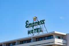 Asbury Park Empress Hotel Royalty Free Stock Photos