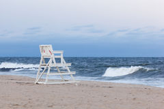 Free Asbury Park New Jersey Lifeguard Chair Stock Images - 97715014