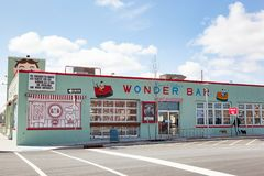 Asbury Park Wonder Bar Stock Images
