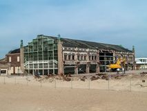 Asbury Park Renovations Royalty Free Stock Images