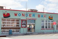 Asbury Park Wonder Bar Royalty Free Stock Images