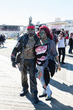 Asbury Park Zombie Walk 2015 Stock Images