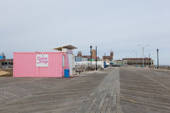 Asbury parka Boardwalk obrazy royalty free
