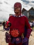 Asbury Parkuje, Nowy Październik 7, 2017: - bydło - Ten potwór uczestniczył w 10th rocznym Asbury parka żywego trupu spacerze Fotografia Royalty Free