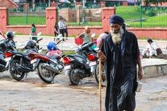 Ascétique dans le pashupatinath à Katmandou, Népal image stock