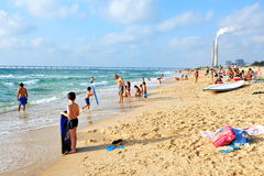 Ascalona - Israele Fotografia Stock Libera da Diritti