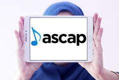 ASCAP , American Society of Composers, Authors and Publishers logo. Logo of ASCAP , American Society of Composers, Authors and Publishers on samsung tablet royalty free stock image