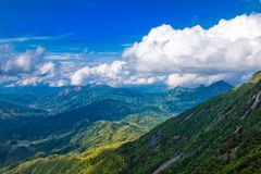 Ascend a height to enjoy a distant view-Lingshan Shangrao Stock Photos