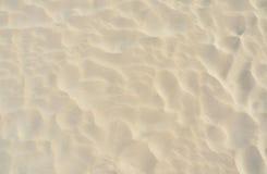 Ascendente cercano de la arena imagen de archivo