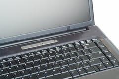 Ascendente cercano de la computadora portátil Fotos de archivo libres de regalías